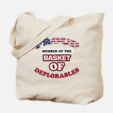 Proud Member of the Basket of Deplorables Tote Bag