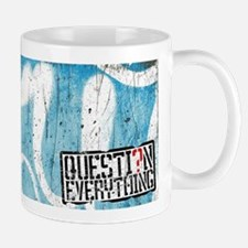 Question Everything Mural Mugs