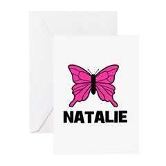 Butterfly - Natalie Greeting Cards (Pk of 10)