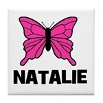 Butterfly - Natalie Tile Coaster