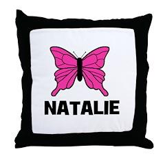 Butterfly - Natalie Throw Pillow