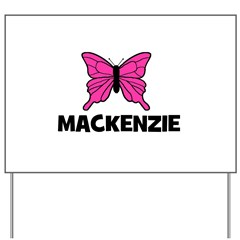 Butterly - Mackenzie Yard Sign