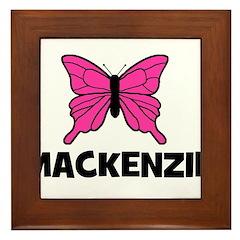 Butterly - Mackenzie Framed Tile