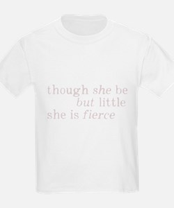 She is Fierce Shakespeare T-Shirt