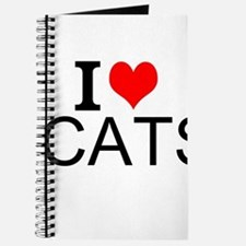 I Love Cats Journal