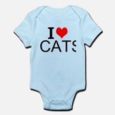 I Love Cats Body Suit