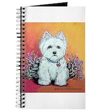 West Highland White Portrait Journal