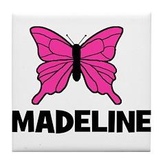 Butterfly - Madeline Tile Coaster