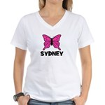 Butterfly - Sydney Women's V-Neck T-Shirt
