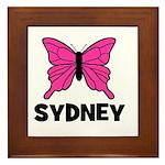 Butterfly - Sydney Framed Tile
