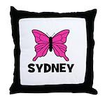 Butterfly - Sydney Throw Pillow