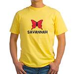 Butterfly - Savannah Yellow T-Shirt