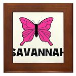Butterfly - Savannah Framed Tile