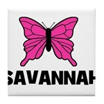 Butterfly - Savannah Tile Coaster