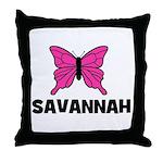 Butterfly - Savannah Throw Pillow