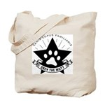 Obey the MUTT! Dog Propaganda Tote Bag