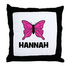 Butterfly - Hannah Throw Pillow