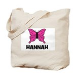 Butterfly - Hannah Tote Bag