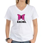 Butterfly - Rachel Women's V-Neck T-Shirt