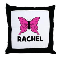 Butterfly - Rachel Throw Pillow
