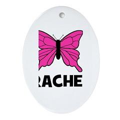 Butterfly - Rachel Oval Ornament