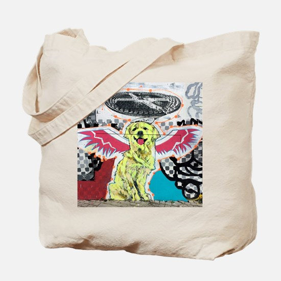 Angellic Dog Tote Bag