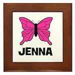 Butterfly - Jenna Framed Tile