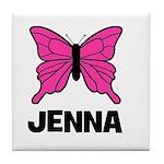 Butterfly - Jenna Tile Coaster