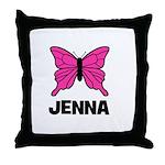 Butterfly - Jenna Throw Pillow