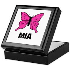 Butterfly - Mia Keepsake Box
