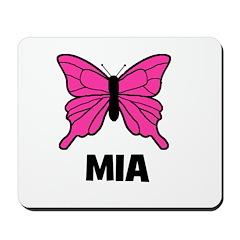 Butterfly - Mia Mousepad