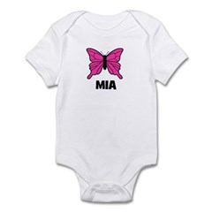 Butterfly - Mia Infant Bodysuit