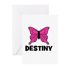 Butterfly - Destiny Greeting Cards (Pk of 10)