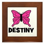 Butterfly - Destiny Framed Tile