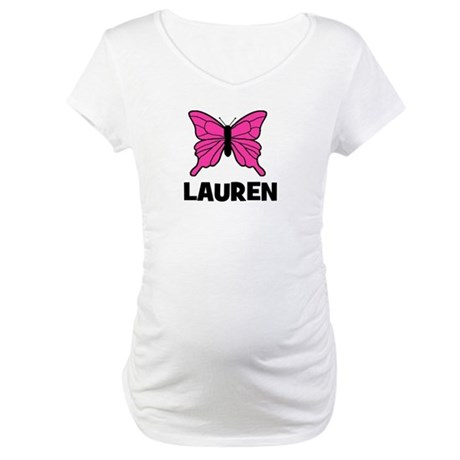 Butterfly - Lauren Maternity T-Shirt