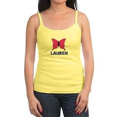 Butterfly - Lauren Jr.Spaghetti Strap