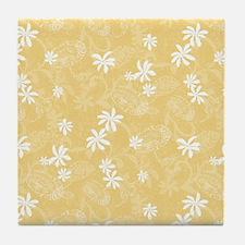 Cute Mustard Tile Coaster
