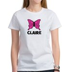Butterfly - Claire Women's T-Shirt