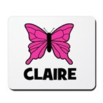 Butterfly - Claire Mousepad