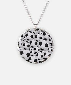 Soccer Ball Pile Necklace