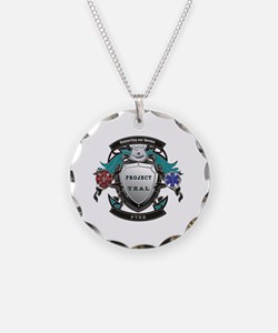 Funny Ptsd Necklace Circle Charm