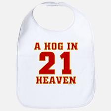 (21) A HOG IN HEAVEN Bib