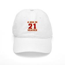 (21) A HOG IN HEAVEN Baseball Cap