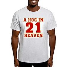 (21) A HOG IN HEAVEN T-Shirt