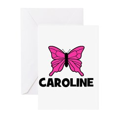 Butterfly - Caroline Greeting Cards (Pk of 20)