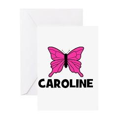 Butterfly - Caroline Greeting Card