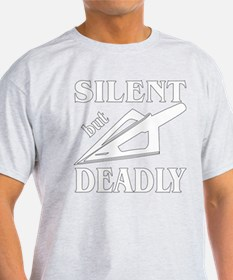 Silent But Deadly Bow T-Shirt