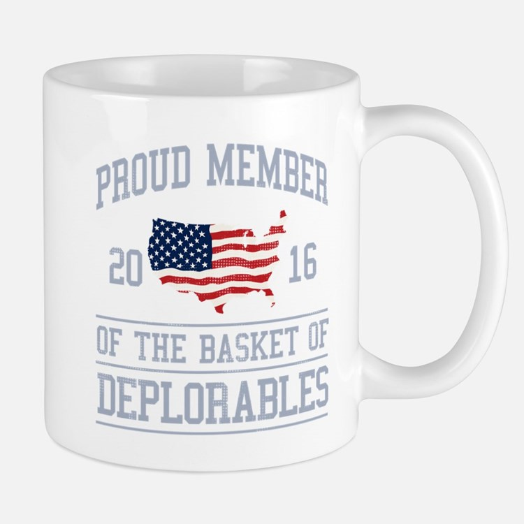 Basket of Deplorables Mug
