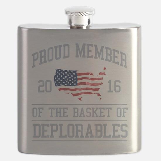 Basket of Deplorables Flask