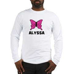 Butterfly - Alyssa Long Sleeve T-Shirt